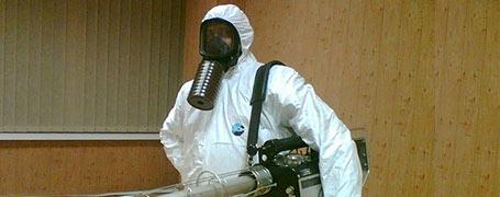 Дезинсекция тараканов холодным туманом